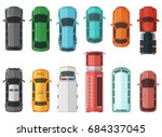 pictures of transportation top... | Shutterstock .eps vector #684337045