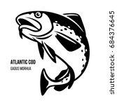 atlantic cod fish. gadus morhua....