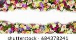 flower background | Shutterstock . vector #684378241