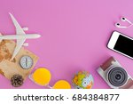 outfit and accessories of... | Shutterstock . vector #684384877