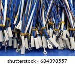 wire harness | Shutterstock . vector #684398557