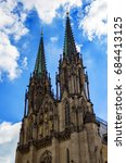 cathedral of saint wenceslas in ... | Shutterstock . vector #684413125