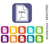 file dwg icons set