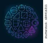 Basic Geometry Colorful...