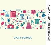flat design event marketing