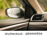 view of the interior of car | Shutterstock . vector #684444904