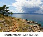 fantastic beaches in island krk ... | Shutterstock . vector #684461251