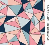 pattern pastel triangle...   Shutterstock .eps vector #684461791