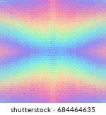 abstract holographic seamless... | Shutterstock . vector #684464635