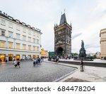 prague  czech republic  july 22 ... | Shutterstock . vector #684478204