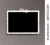 vector template photo frame...   Shutterstock .eps vector #684522184