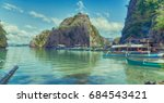 in  philippines  view from a... | Shutterstock . vector #684543421