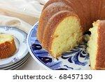 Lemon Bundt Cake With Shallow...