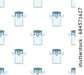 t shirt fan with print.fans... | Shutterstock .eps vector #684571627
