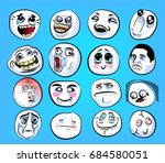 Huge Set Of Emotional Stickers...
