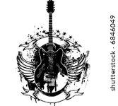 rock n roll | Shutterstock .eps vector #6846049