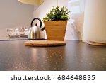 interior of kitchen   Shutterstock . vector #684648835