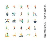 human color vector icons | Shutterstock .eps vector #684653641