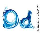 Vector Alphabetical Water...