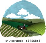 woodcut style illustration of a ... | Shutterstock .eps vector #68466865