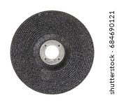 abrasive discs for grinder... | Shutterstock . vector #684690121