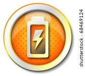 battery charge icon | Shutterstock . vector #68469124