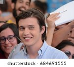 Small photo of Giffoni Valle Piana, Sa, Italy - July 21, 2017 : Nick Robinson at Giffoni Film Festival 2017 - on July 21, 2017 in Giffoni Valle Piana, Italy
