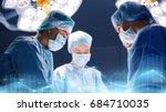 surgery  medicine and people... | Shutterstock . vector #684710035