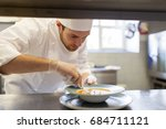 food cooking  profession and... | Shutterstock . vector #684711121