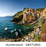 Cinque Terre  Italy  ...