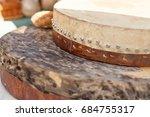 tambourine of shaman   Shutterstock . vector #684755317