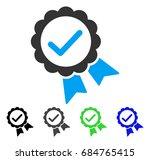 validity seal flat vector... | Shutterstock .eps vector #684765415