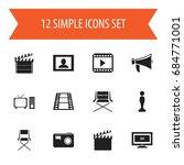 set of 12 editable filming...