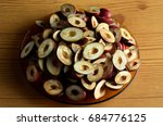 processed gods crown fruit cut... | Shutterstock . vector #684776125