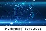digital business   tech circle... | Shutterstock . vector #684815311