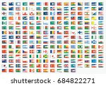 textile label shaped... | Shutterstock . vector #684822271
