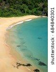 Small photo of Sancho beach in Fernando de Noronha,Brazil