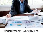 business analysis planing and ... | Shutterstock . vector #684887425