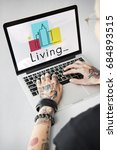 Small photo of Urban Living City Lifestyle Society Graphic