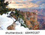 grand canyon panorama view in... | Shutterstock . vector #68490187