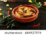 sardine fish curry from kerala... | Shutterstock . vector #684927574