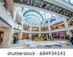 dubai  uae   april 07  mall of... | Shutterstock . vector #684934141