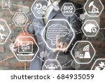 smart digital manufacturing... | Shutterstock . vector #684935059