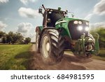 Tractor In Full Speed