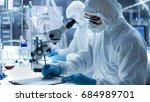 in a secure high level...   Shutterstock . vector #684989701
