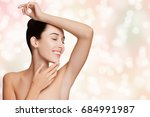 armpit epilation  lacer hair... | Shutterstock . vector #684991987