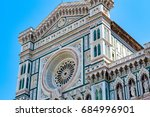 facade of the cattedrale di... | Shutterstock . vector #684996901