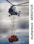 air cargo and aviation work ... | Shutterstock . vector #685027135