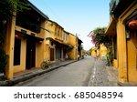 ancient town of hoi an  | Shutterstock . vector #685048594