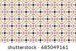 sloping colorful ornament for... | Shutterstock . vector #685049161